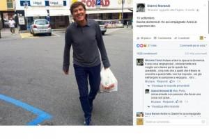 Insulti per Gianni Morandi